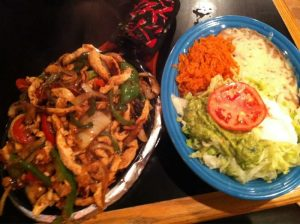 Fajita Combo Meal at El Jalapeno Mexican Restaurant in Youngstown, Ohio