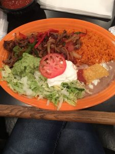 Another great Mexican dish from El Jalapeno in Youngstown, Ohio